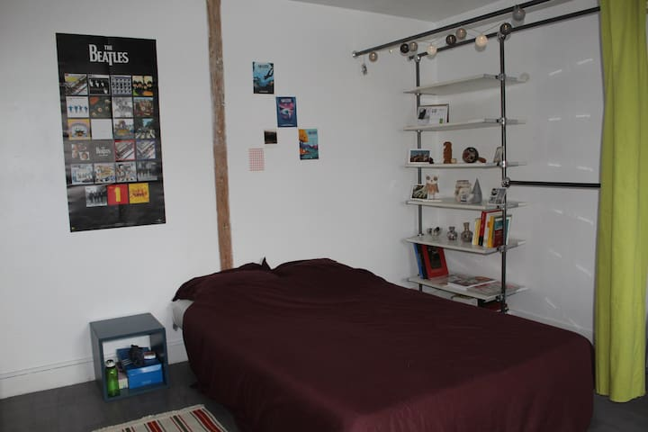 Appartement calme, proche gare, 56 m²