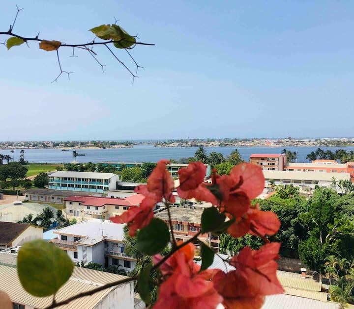 Chambre d'hôtes **** avec vue  sur Mer et lagune