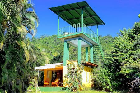 Private ocean view bungalow at Playa Coyote