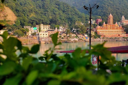 Hridaya Sthal - home in the quiet Rishikesh Valley