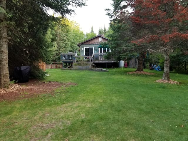 Year round  Waterfront Cottage on Gull river
