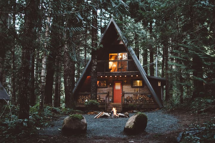 The Little Owl Cabin at Mt. Rainier - Packwood - House