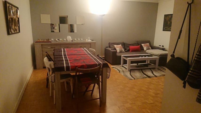 Chambre privée dans appartement au centre de Lyon