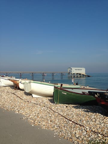 The Beach House Annexe - Selsey - Suite degli ospiti