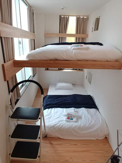 駐車場無料FREE car park available Nagoya Bunk Bed✿