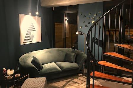 Studio/Loft Moderno y Elegante