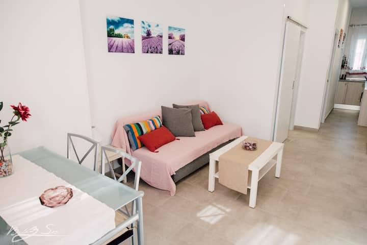 apartamento B rosado, nuevos , ideal para parejas.