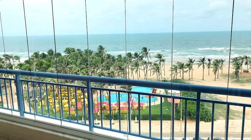 O melhor da Praia do Futuro com vista para o mar!