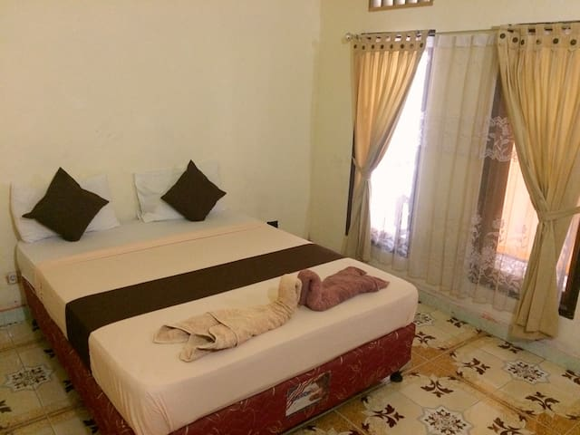 Wonderfull AC Room at Alfia Gili Bungalows