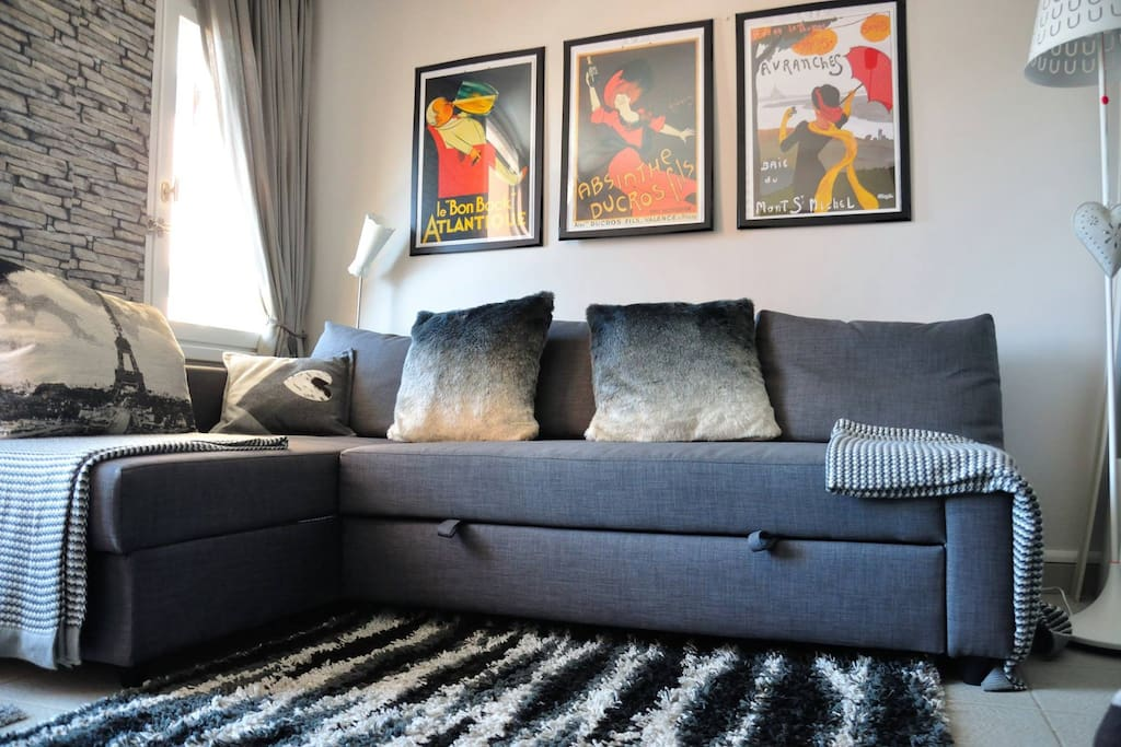 Main double sofa bed