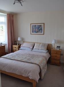 Ground floor room, en suite & breakfast room - Dry Sandford - Hus