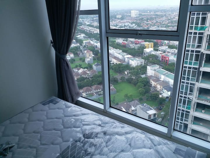 Nice view apartment. Top floor 31. Cozy minimalist