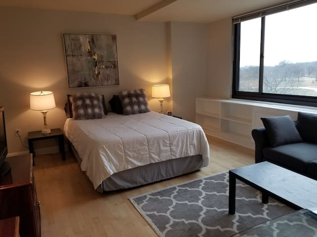 Fab location! Walking distance to downtown & metro