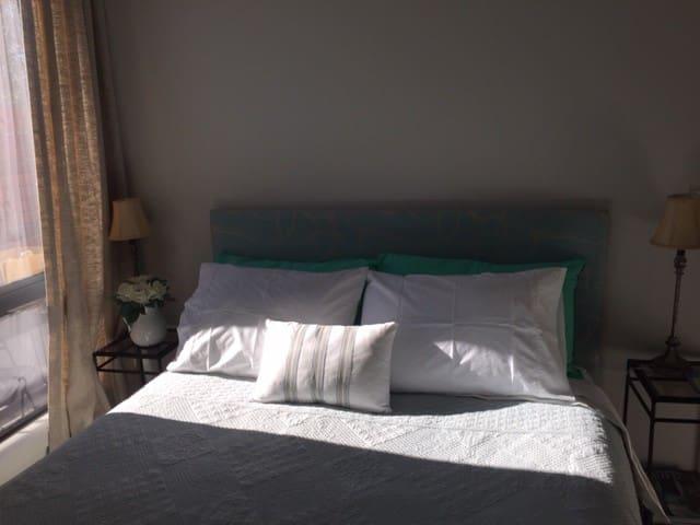 Light and stylish bedroom
