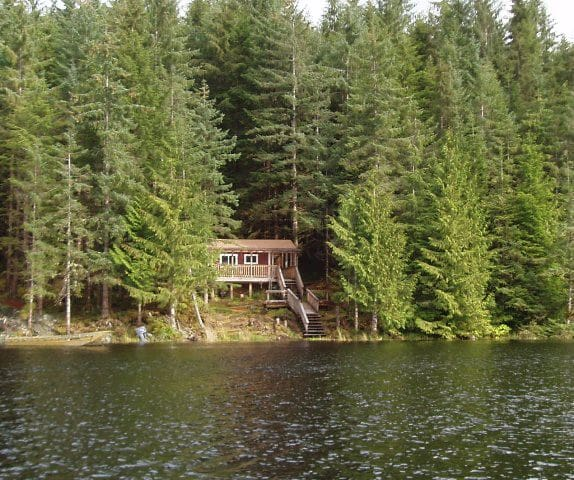 **ALASKAN ESCAPE** Two Goose Cozy Cabin