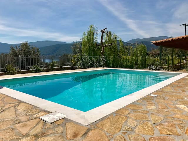Villa Nour - 10 people - Swimming pool - Korfos - Villa