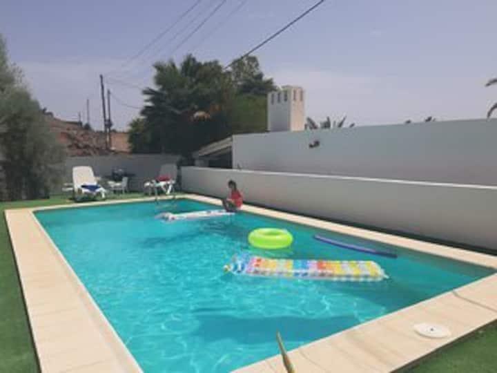 Villa STA MONICA,  Piscina Climatizada* Privada