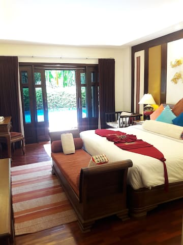 Spacious Deluxe Room in Chiang Mai!