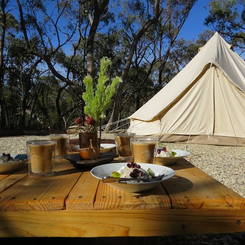 """Private & glamorous...'Glamping"""" - Drummond North - Tent"""