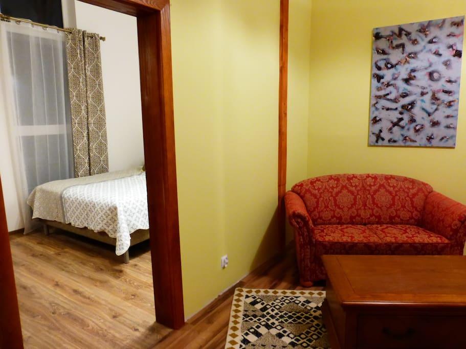 Apartament Leśne Licho w gościńcu Za Siódmą Górą