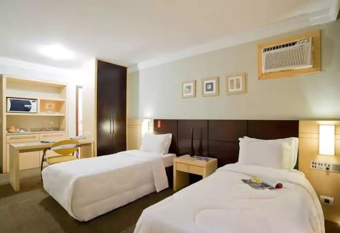 flat padrão hotel