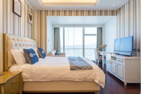 厦门双子塔 临近厦大的超高层山海双景豪华公寓 家庭情侣的度假首选-Room2 - 厦門 (Xiamen)