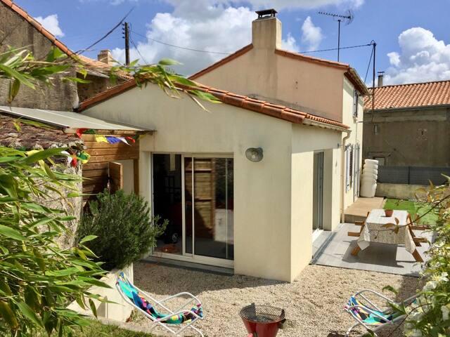 Maison avec jardin à 15 minutes du Puy du Fou