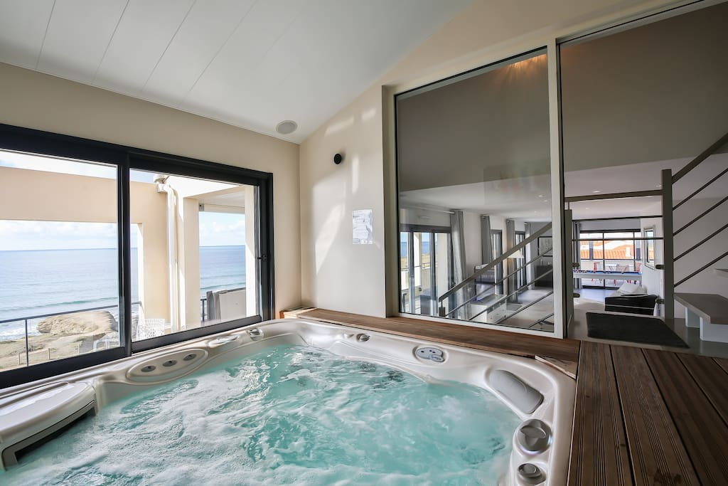 Spa 5 place vue mer