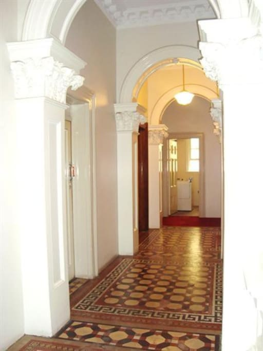 Common Hallway Area with Shared Laundry