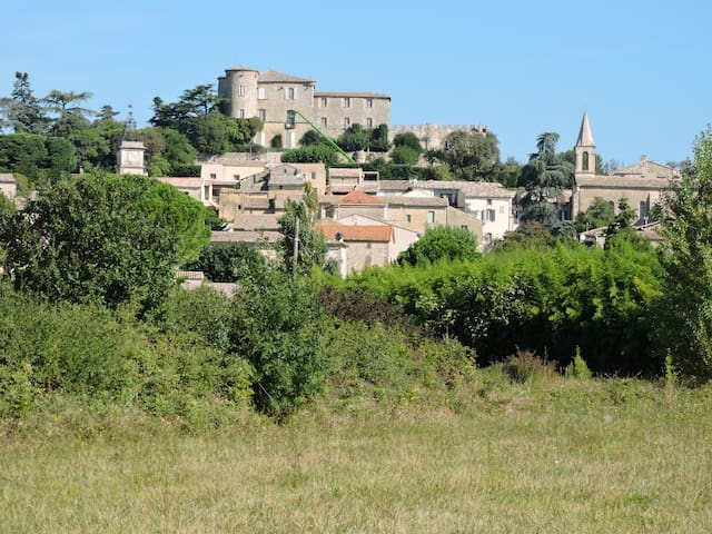 maison a la campagne de village - La Bastide-d'Engras - Feriehjem