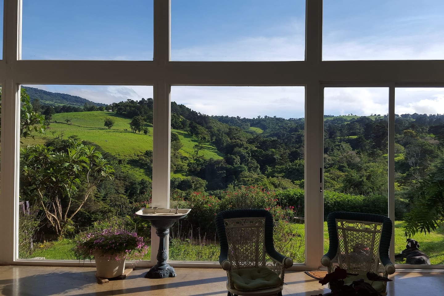 Quinta Esencia Views from the living room!!