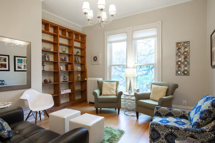 Creative + Fun Three Bedroom Apt. with Personality