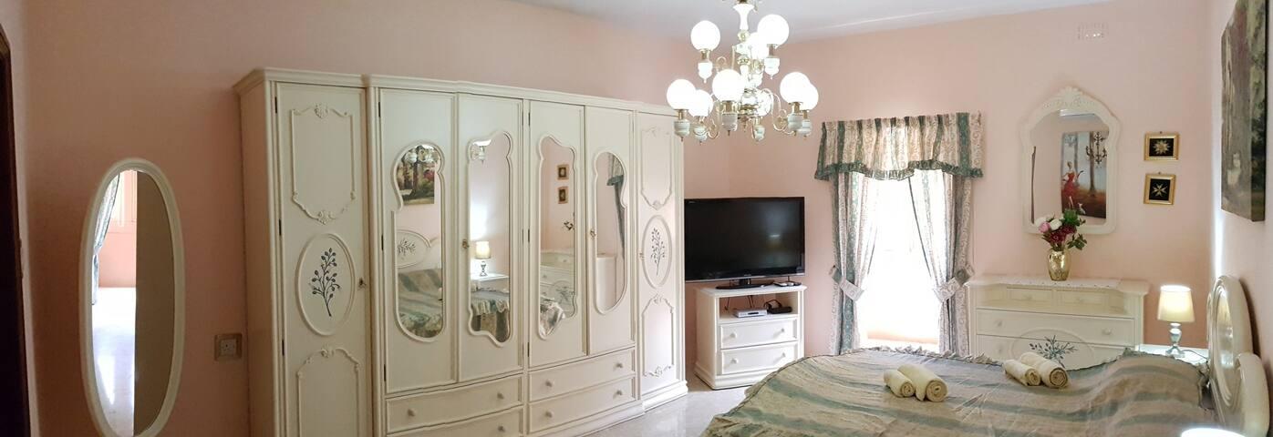 Massive wardrobe with TV