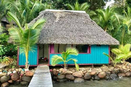 Private Island Waterfront Bungalow Casa Las Palmas