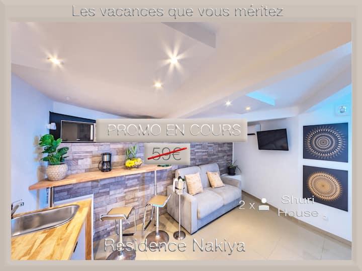 "Charmant studio ""Shuri house"" (Résidence Nakiya)"