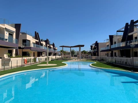 Playa Higuericas, ground floor with sun and style