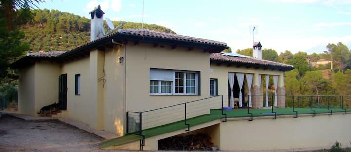 Casa Rural Moderna en Parque Natural - 6 personas