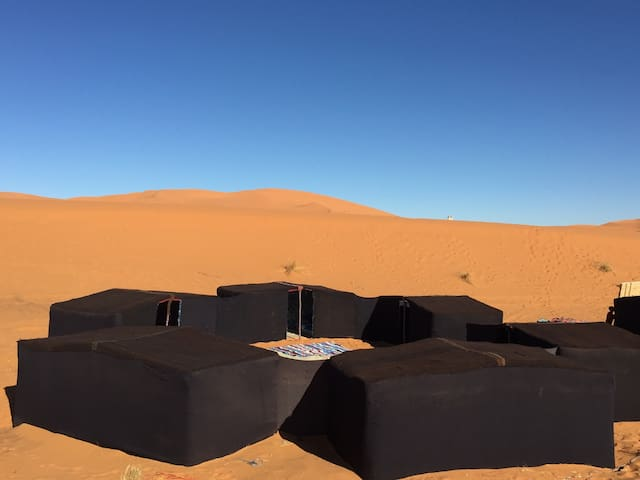 Welcome to Desert Queen Camp - Erg Chabbi  - Telt