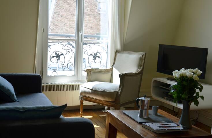 Typically Parisian Apartment 3 rooms - Paris - Apartemen