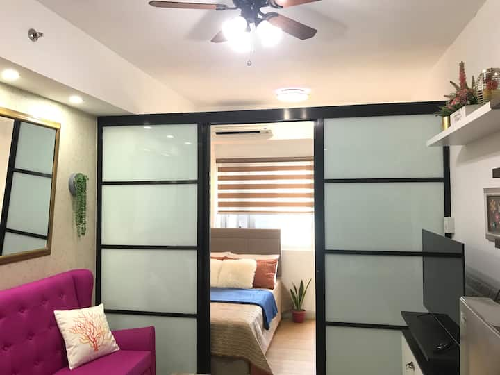 New Cozy 1br with Wifi and Netflix near BGC