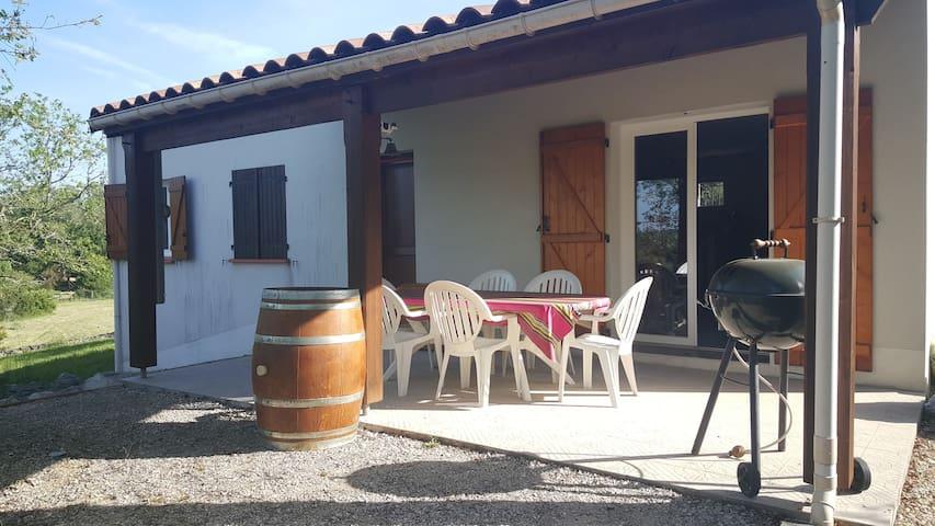Maison idéale pour séjour au calme.