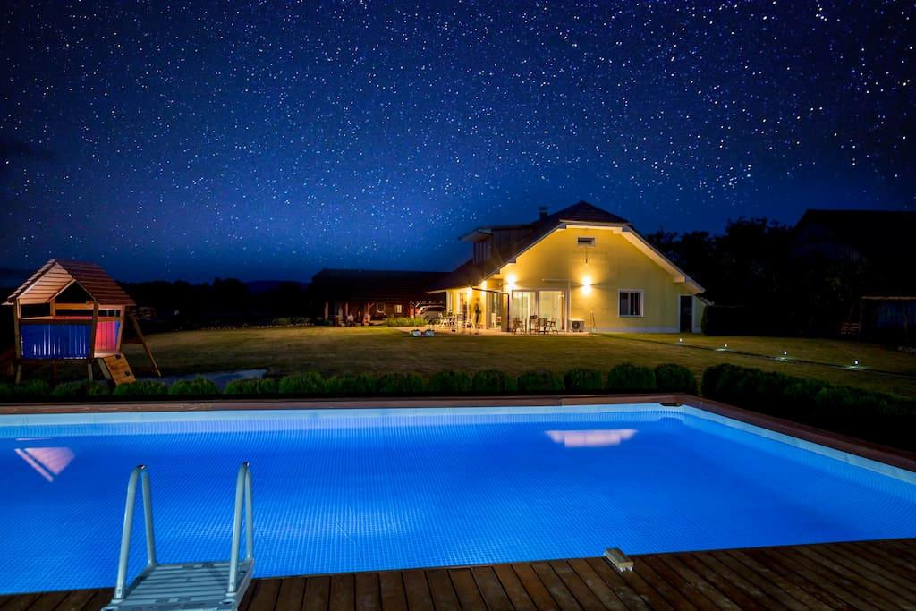 Holiday Residence Ana Swimming Pool Slovenia Houses For Rent In Boginja Vas Metlika Slovenia