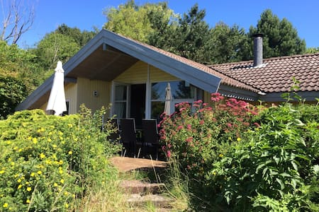 Spacious house in big garden 1 km from great beach - Eskebjerg - Stuga