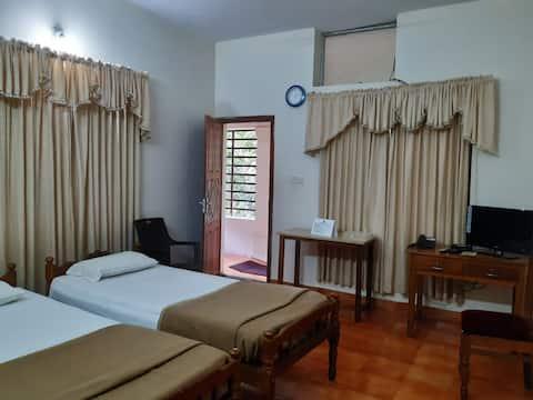 Standard room in a yoga retreat