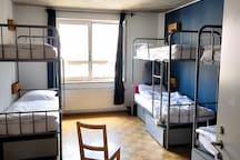 Single Bed in Mixed Dormitory Room (8 Adults)