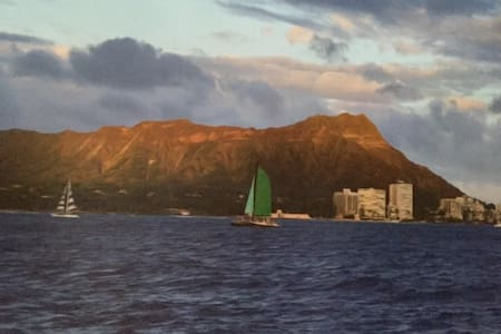 Private room near Diamond Head and Kapiolani Park - Honolulu - Ev