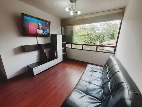 Apartamento amoblado Residencias Altavista Avenida Ferrero Tamayo cerca de todo , excelente ubicación