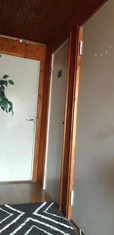 Rintamamiestalon yläkerta vuokrattavana