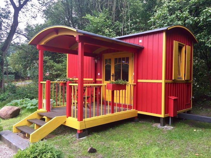 Zirkuswagen im Landhaus Goldene Gans