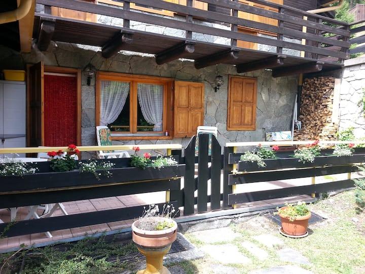 Vicinanze Bormio trilocale con terrazza